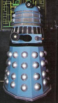 Dalek Six-ex on display at Madame Tussauds