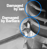 Dalek 3 Damage