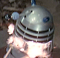 Dalek with see-through neck