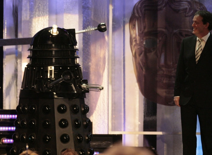 Dalek Sec is revealed at BAFTA.