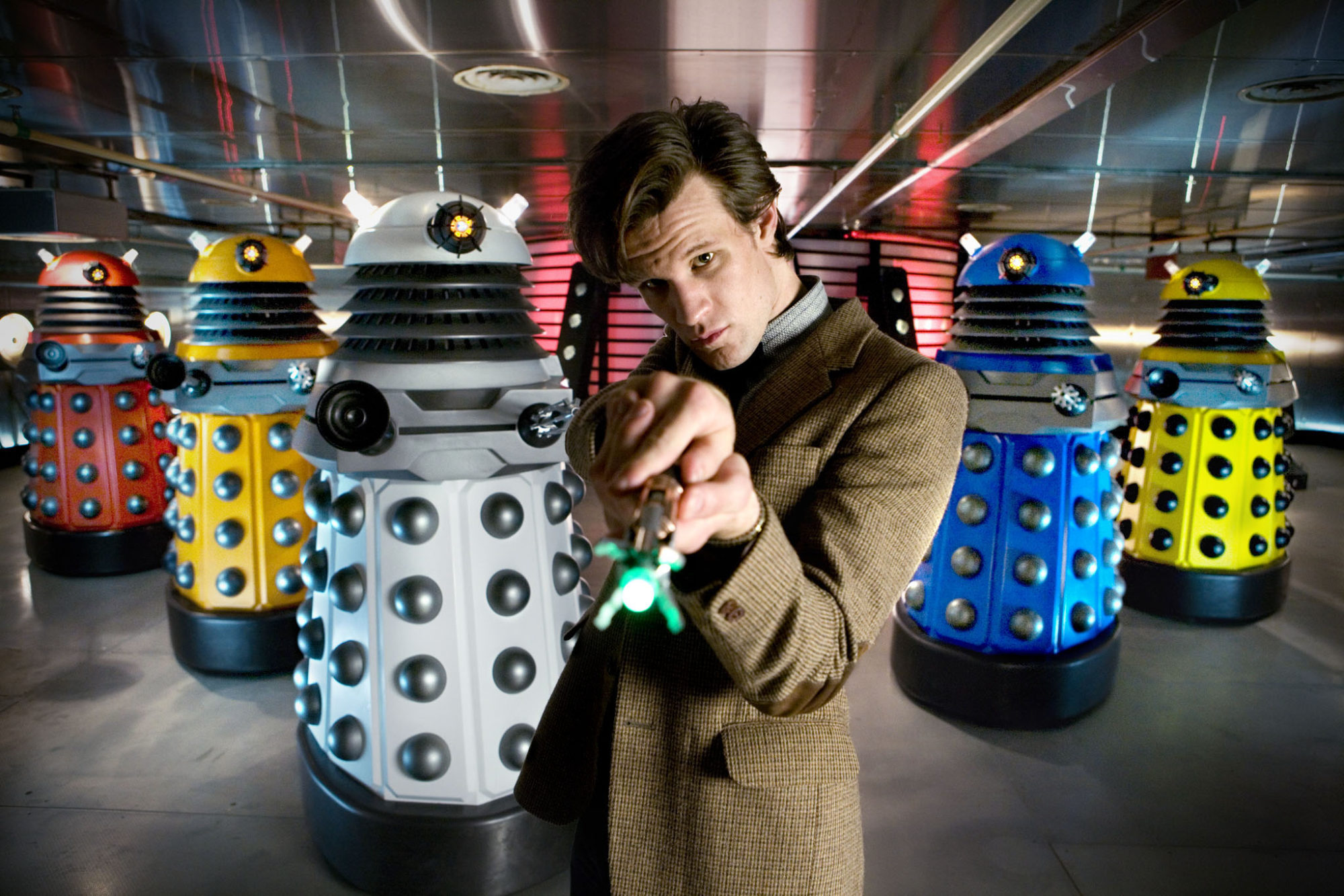 The reveal of the New Paradigm Daleks!