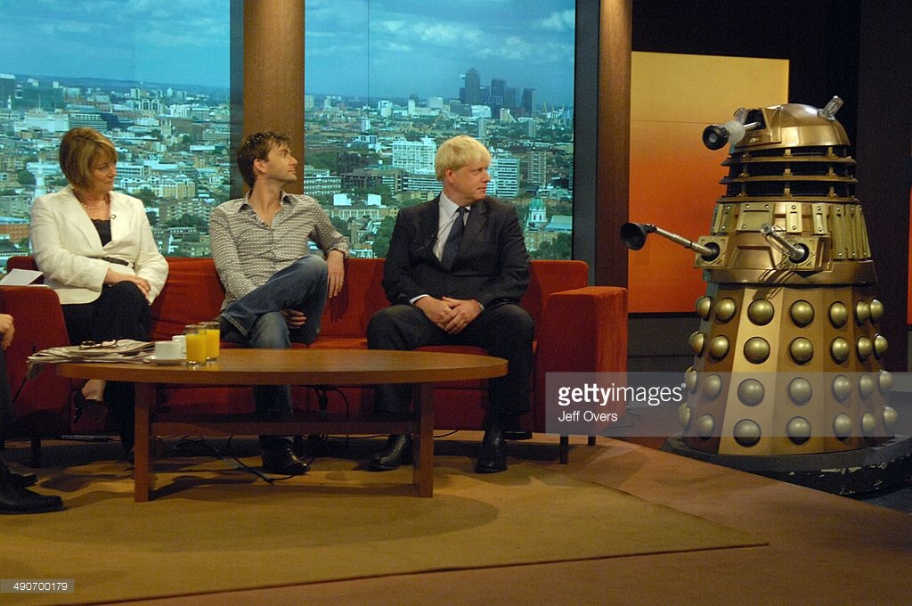 TPE-TVC features on the Andrew Marr Show with David Tennant and Boris Johnson