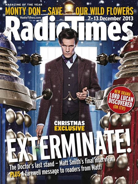 The Radio Times cover uses NPD-A props