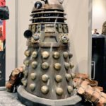 The 'This Planet Earth' Dalek on the RealSFX stand