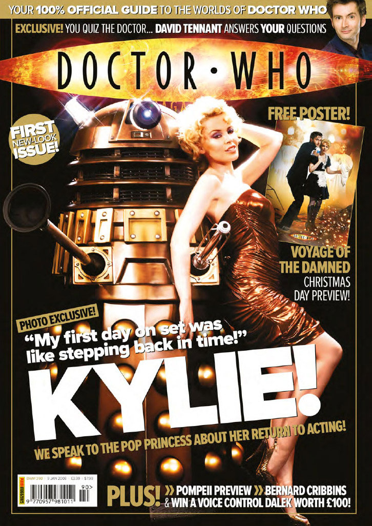 The BBC 'promo' Dalek stars with Kylie Minogue