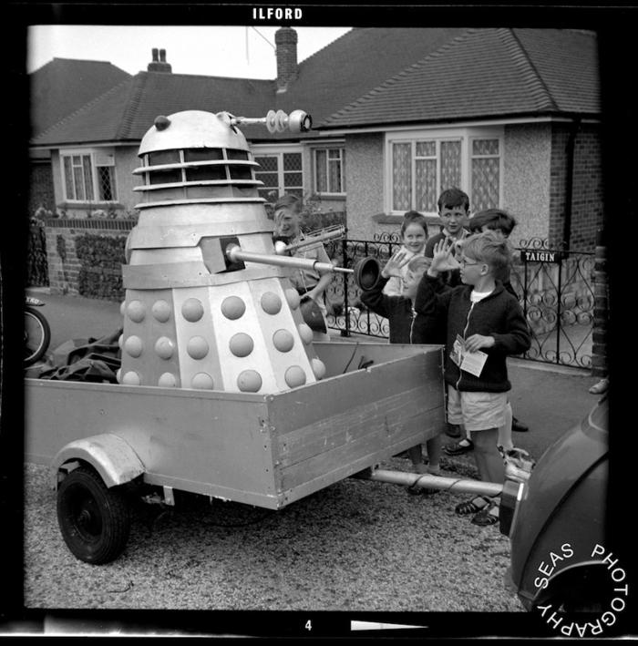 Dalek Three in Birchington, Thanet. Picture - Seas Photography
