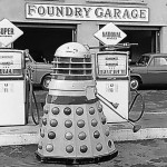 Dalek 4 at Foundry Garage in Street, Somerset. Click for a larger view. Picture - Ken Nicholls.