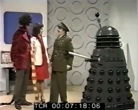 Dalek Six-5 on Crackerjack! on 21st March, 1975. *Thank you to Richard Bignell