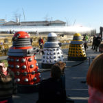 The New Paradigm Daleks in Sheffield