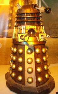 The second exhibition prop in Cardiff. Dalek NSDW.