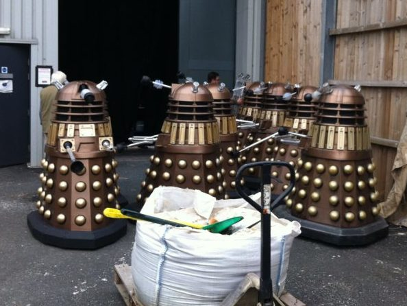 The Daleks are assembled