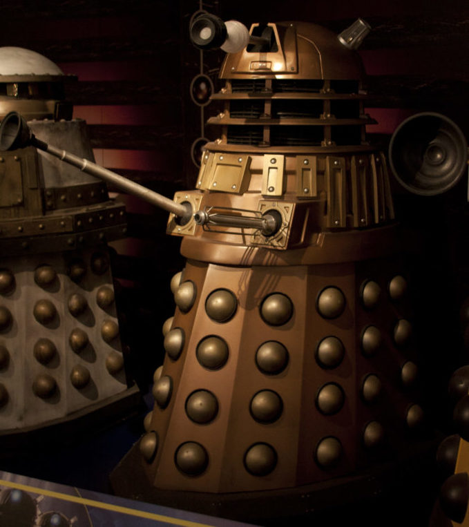 A mix of the two Earls Court Daleks. Picture – Ben Green.