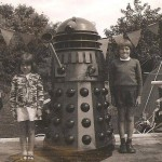 Dalek One-5 at Hampton Carnival in the Summer of 1973 soon after refurbishment. Photo - Linda Lemon