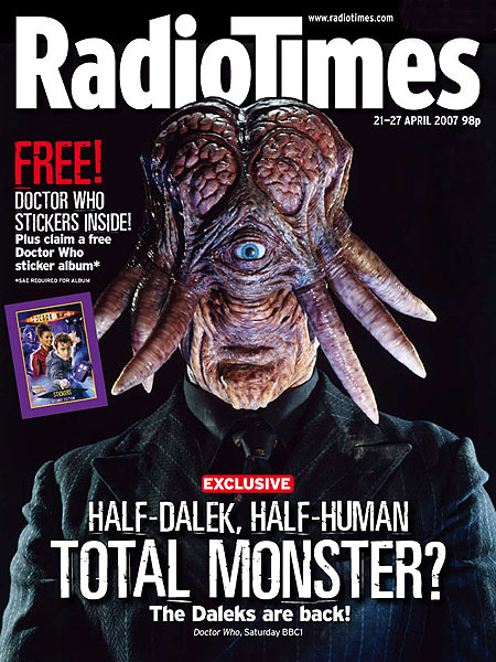 'Human Sec' as featured on the Radio Times cover.