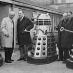 Soviet delegates meet Daleks