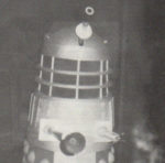 Dalek L2 in the final display before the Console Room in 1975.