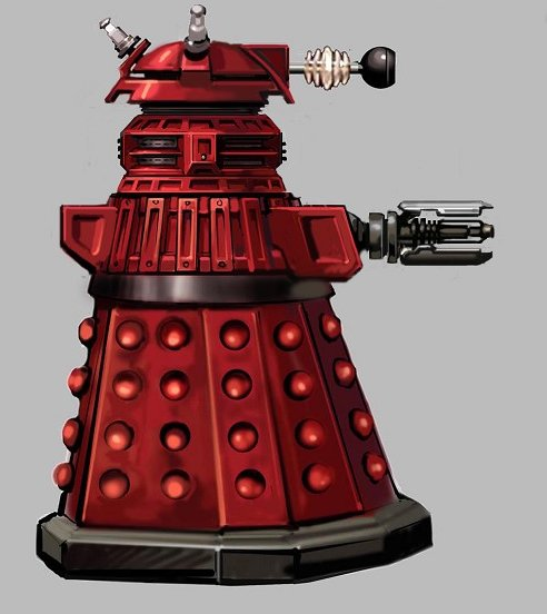 An early idea based on the Special Weapons Dalek