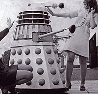 Dalek Two visits BBC Cardiff in October 1967