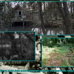 The cottage with the pond on the right, then in Danger Man and as it is today. Click for a larger view