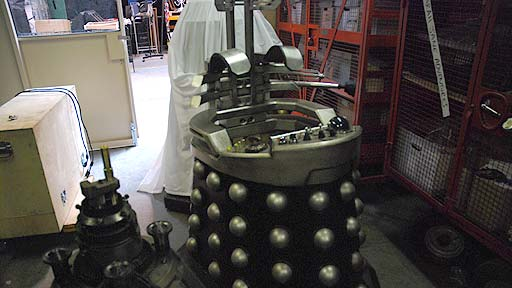 The finished Davros chair.