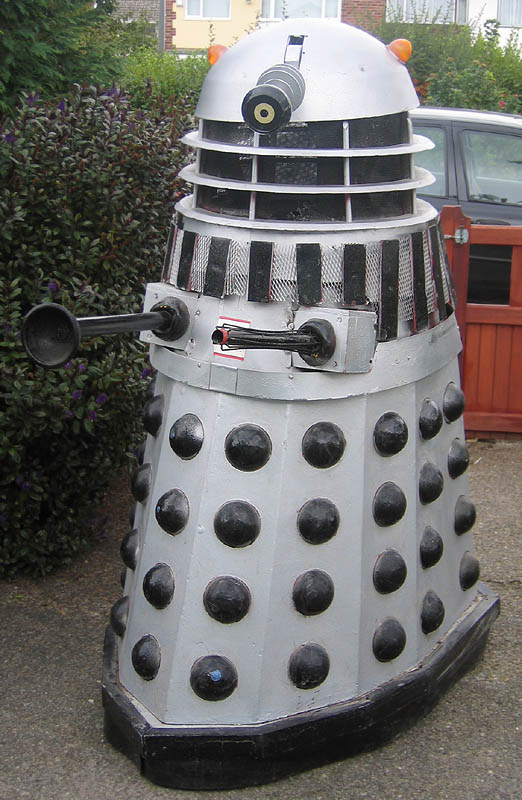 The Dalek pictured in 2005