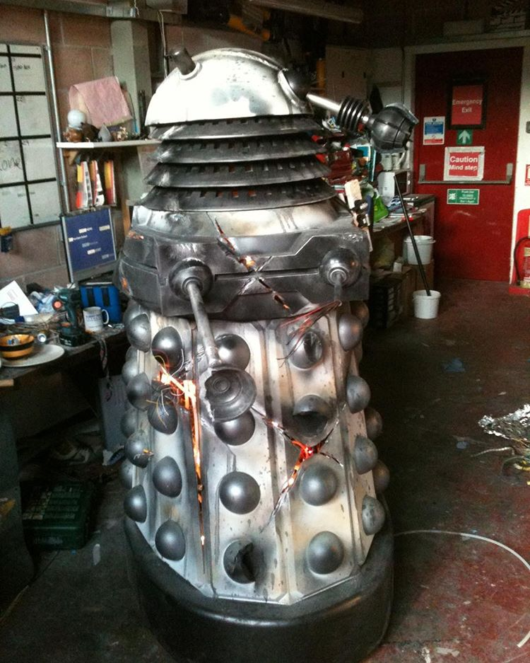 The distressed Supreme Dalek