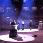 Dalek Two and Dalek Six at The Albert Hall