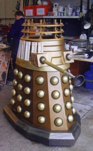 The new Dalek is nearly ready.