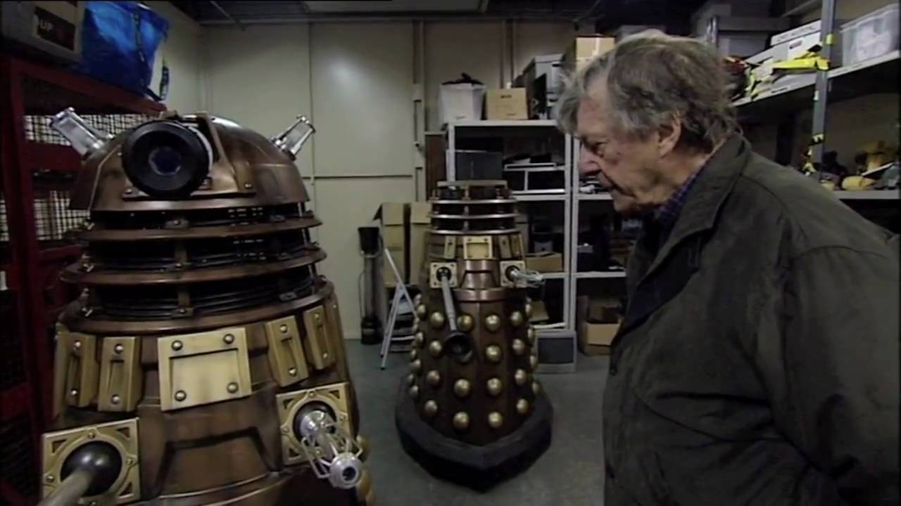 Ray Cusick is reunited with the Daleks