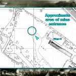 The mine area on the Shepperton back lot. Click for a larger view