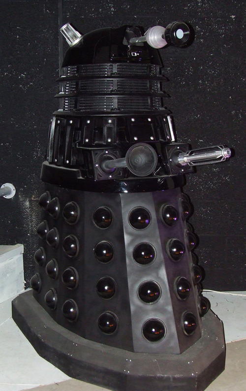 TPE supplied a Dalek Sec for the 'Up Close' exhibit.