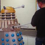 The new Dalek under construction.