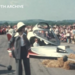 Elisabeth Sladen at Goodwood in 1974