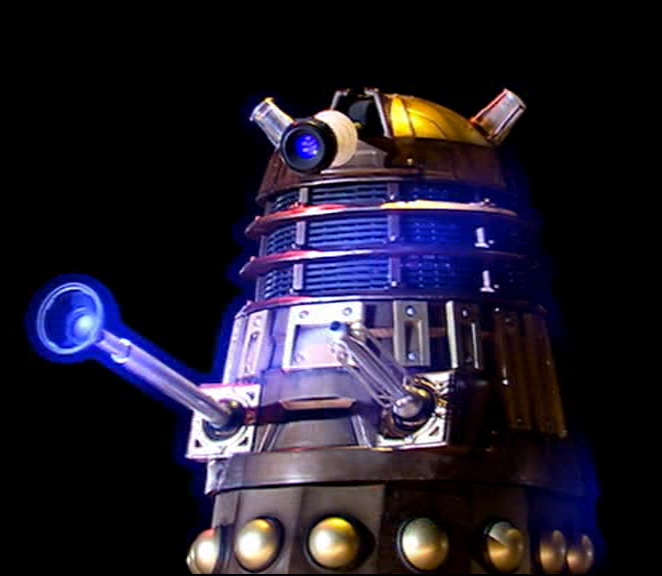 The SFX Dalek ready for destruction.