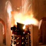 The Supreme's destruction used a 'standard' Dalek shoulder section
