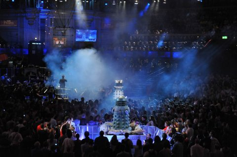 NSD4 and the Supreme Dalek at the Proms