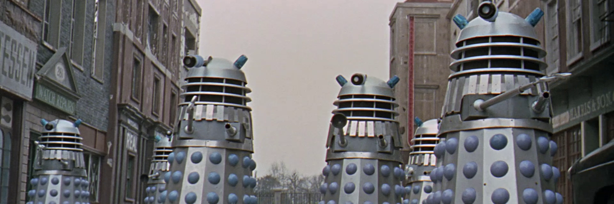 Daleks at Shepperton Studios
