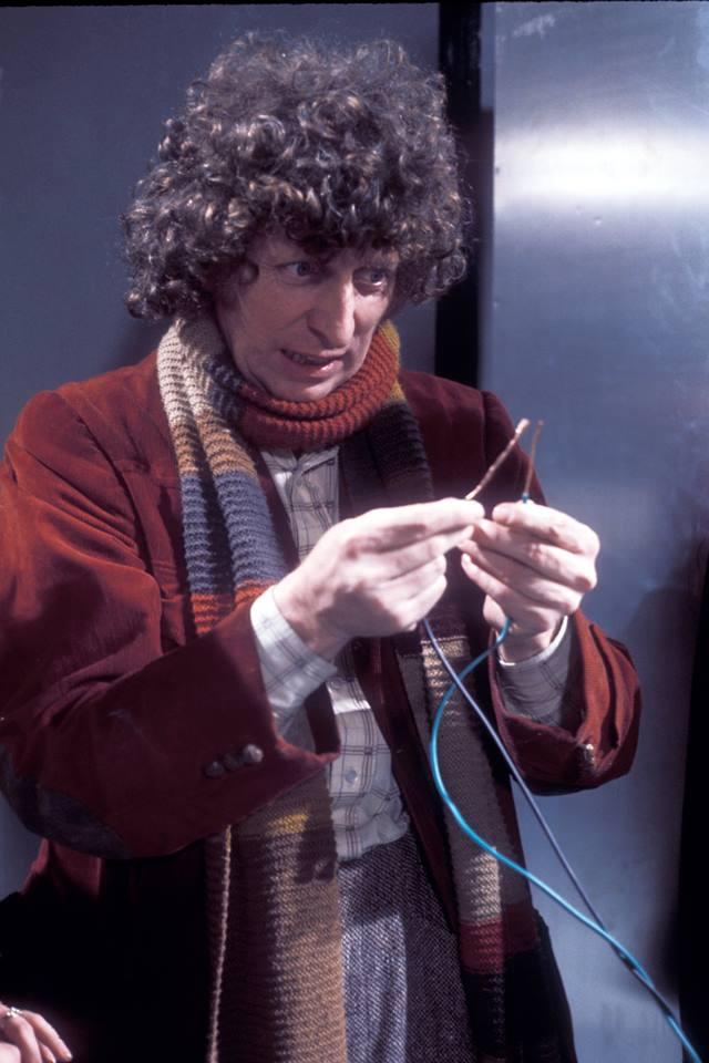 Tom Baker in Genesis of the Daleks