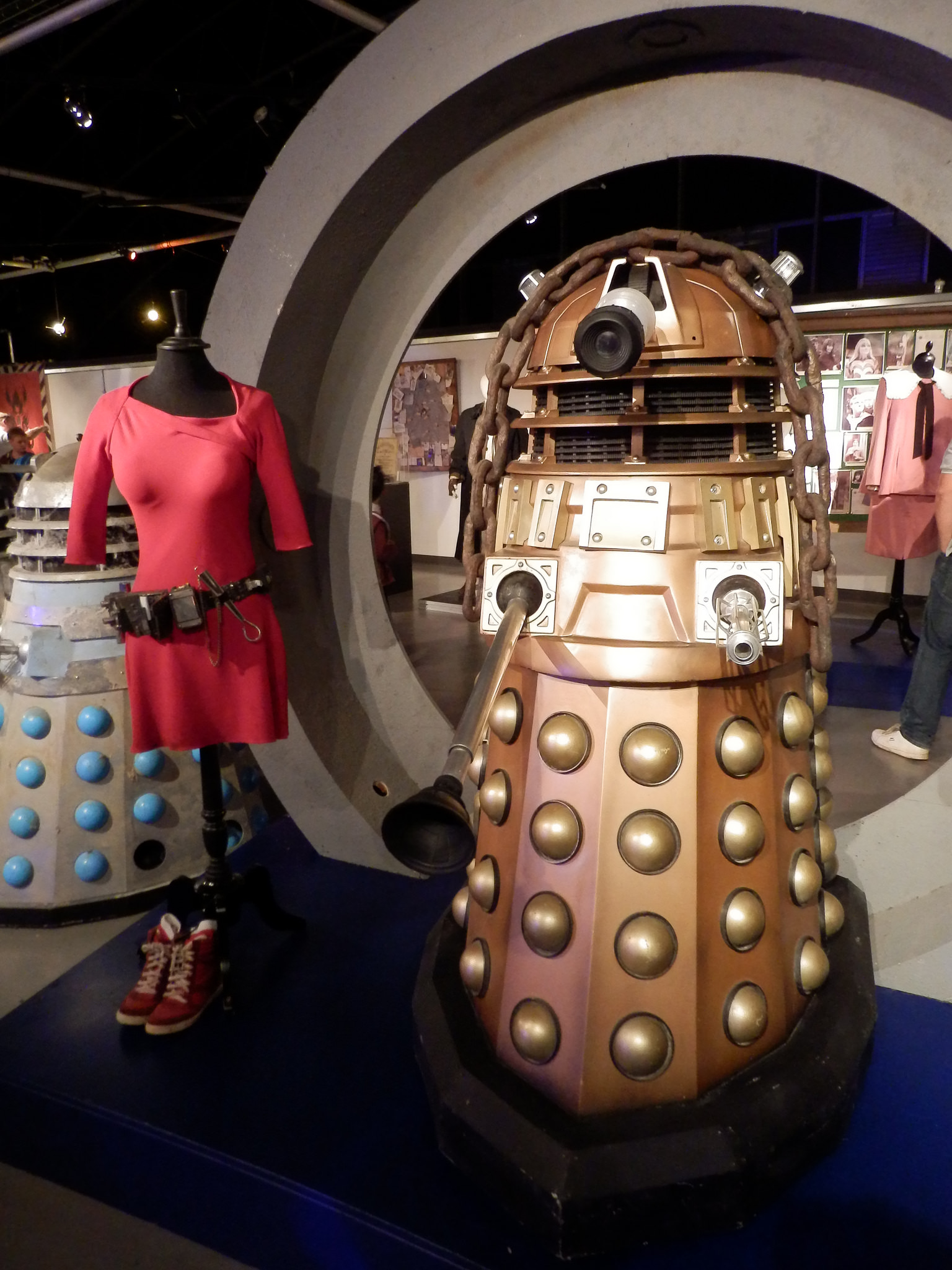 TPE EC2/EC1 as the 'Oswin' Dalek.
