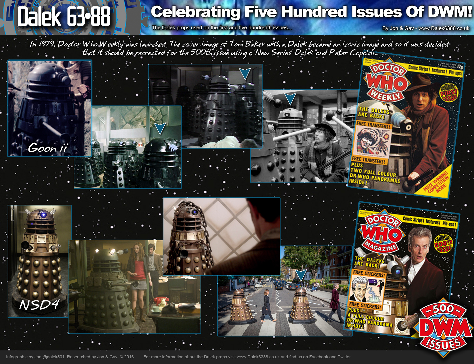 The props that appeared on DWM#01 and DWM#500