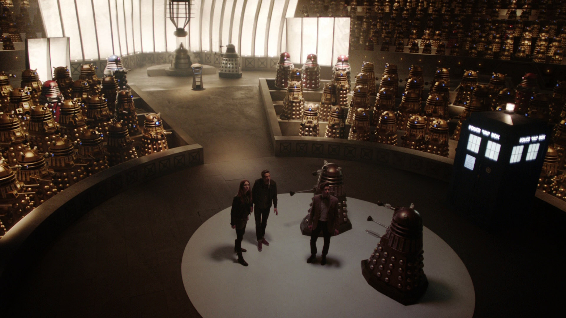 The Dalek Parliament