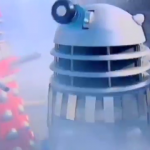 Dalek AB2 and Dalek AARUII 2 appear together on the BBCs 'Summer Scene' in 1992