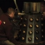 Scott Weyland's 'Dalek Sec' is prepared for destruction