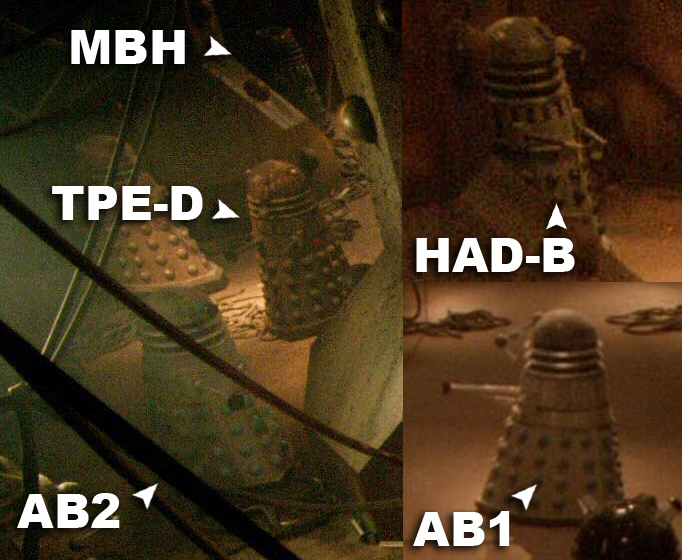 Daleks in the asylum