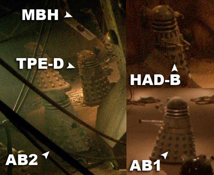 Daleks in the asylum
