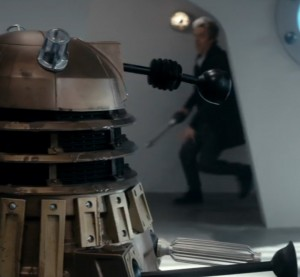 The FX Dalek from 'Into The Dalek'
