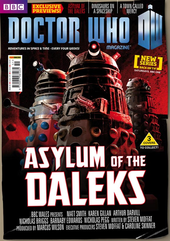 The second DWM 'Asylum' cover