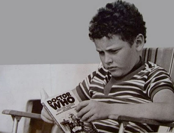 A young Steven Moffat gets some inspiration