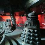 The Dalek set in preparation