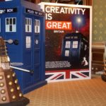 The Daleks invade the Foreign & Commonwealth Office in London. Picture - Carwyn Jones.